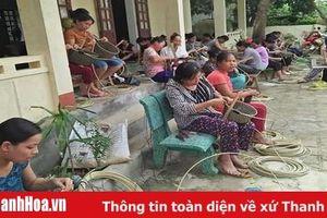 Phát triển nghề mây tre đan xuất khẩu ở xã Thành Thọ