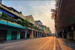 Quán xá đóng cửa, phố phường Hà Nội ngủ yên giữa mùa dịch