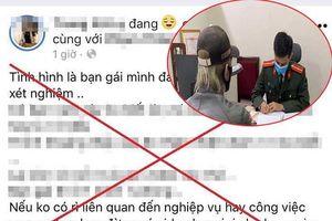 Tung tin bạn gái bị quấy rối ở khu cách ly, thanh niên bị phạt 12,5 triệu đồng