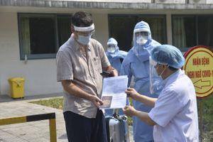 Huế: Bệnh nhân 33 mắc COVID-19 được xuất viện
