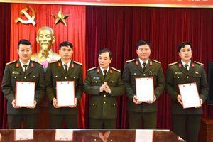 Thanh Hóa điều động, bổ nhiệm 413 trưởng công an xã, thị trấn