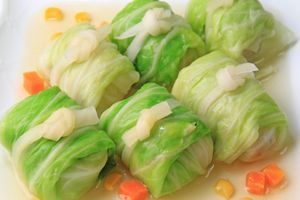 Cải cuốn thịt và 3 cách chế biến rau cải không tốn sức