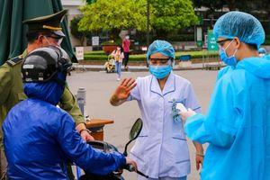 Cảnh phong tỏa Bệnh viện Bạch Mai