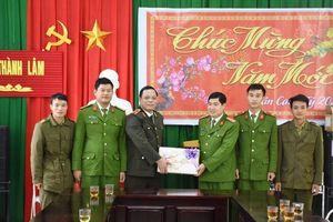 525 xã, thị trấn tại Thanh Hóa đã có công an chính quy