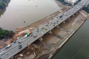 Vận chuyển dầm thi công đường Vành đai 3, Hà Nội cấm những tuyến đường nào?