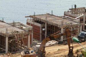 Bình Định: Yêu cầu dừng thi công một số dự án nghỉ dưỡng dọc tuyến Quy Nhơn - Sông Cầu