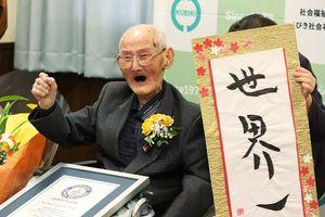 Cụ ông già nhất thế giới hiện 110 tuổi