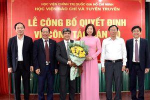 Học viện Báo chí và Tuyên truyền bổ nhiệm nhân sự chủ chốt