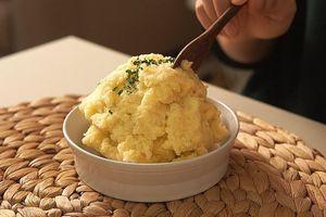 Cách làm khoai tây nghiền với sữa tươi không đường