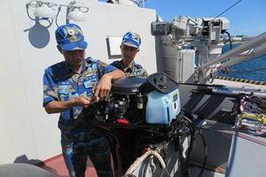 Bảo đảm kỹ thuật cho tàu chiến hoạt động dài ngày trên biển
