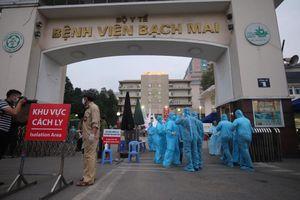 Công bố lịch trình bệnh nhân 172 từng chăm sóc người thân 23 ngày ở Bạch Mai
