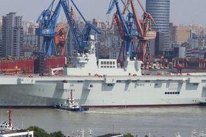 Hải quân Trung Quốc sắp có 'tàu sân bay' thứ tư