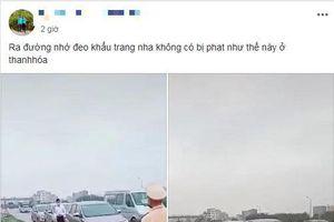 Phạt tài xế chống đẩy do không đeo khẩu trang: CSGT Bắc Giang nói gì?