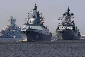 Hạm đội Thái Bình Dương Nga triển khai cùng lúc 18 tàu cho nhiệm vụ tác chiến