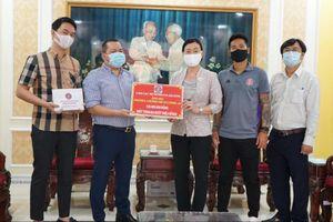 Sài Gòn FC tặng 130 triệu đồng chống dịch COVID-19