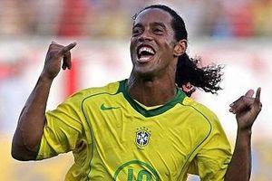 Ronaldinho kiến tạo cho Pato sút tung lưới tuyển Việt Nam năm 2008