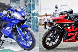 Sportbike 150 cc - chọn Yamaha YZF-R15 hay Suzuki GSX-R150?
