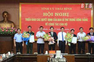Ban Bí thư chuẩn y nhân sự tại Thái Bình, Quảng Nam