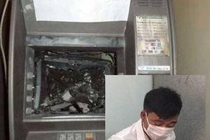 Nam thanh niên đập phá 2 cây ATM vì không rút được tiền