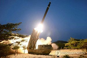 Triều Tiên tuyên bố thử nghiệm thành công bệ phóng tên lửa siêu lớn