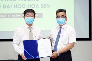 PGS-TS Nguyễn Ngọc Điện làm Hiệu trưởng trường ĐH Hoa Sen