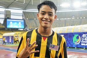 Tiền đạo Malaysia vào top sao trẻ đáng xem nhất thế giới