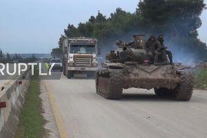 Thổ Nhĩ Kỳ vẫn 'ồ ạt' tấn công, quân đội Syria điều loạt vũ khí tới Idlib