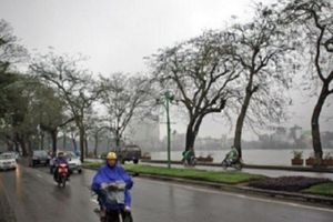 Bắc Bộ mưa phùn, trời se lạnh