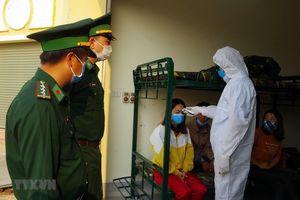 Điện Biên tiếp nhận gần 900 công dân từ nước ngoài trở về