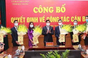 Bắc Giang, Nghệ An, Bình Dương điều động, bổ nhiệm nhân sự mới