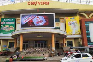 Chợ lớn nhất Nghệ An đóng cửa để phòng dịch Covid-19