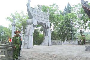 Triển khai phương án đảm bảo an ninh trật tự lễ Giỗ Tổ Hùng Vương