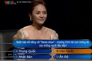 Thu Quỳnh giành 22 triệu đồng ở Ai là triệu phú
