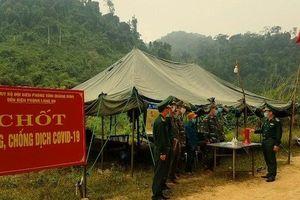 Chặn dịch trên biên giới Việt - Lào