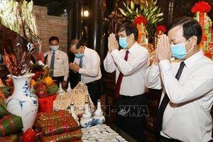 Hôm nay mồng 10-3 âm lịch, Lễ Giỗ Tổ Hùng Vương diễn ra tại Đền Hùng