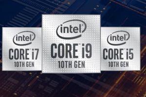 Intel công bố chip Comet Lake thế hệ 10 hiệu năng cao cho laptop chơi game