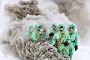 Chức năng chống dịch bệnh của bộ đội phòng chống Xạ-Sinh-Hóa Nga