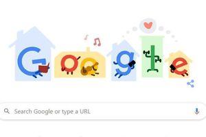 Google gửi thông điệp ở nhà để ngăn chặn COVID-19