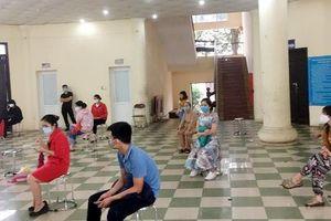 Đã có 443 mẫu xét nghiệm nhanh Covid-19 được lấy tại huyện Thanh Trì