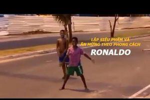 'Siêu phẩm' bóng đá đường phố gây sốt giữa dịch COVID-19
