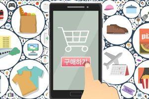 Hàn Quốc: Giá trị giao dịch mua sắm trực tuyến tăng mạnh