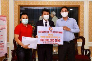 Đội bóng của Công Phượng ủng hộ 360 triệu đồng chống dịch Covid-19