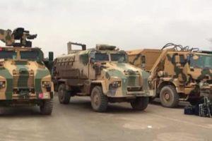 Thổ Nhĩ Kỳ tái triển khai xe tăng và vũ khí hạng nặng đến chiến trường Idlib