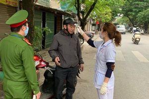 Quận Thanh Xuân xử phạt 41 tổ chức, cá nhân vi phạm phòng chống dịch Covid 19