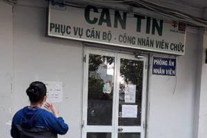 TP.HCM: Căn tin các bệnh viện không phục vụ đồ ăn tại chỗ