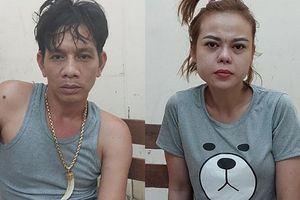 Cảnh sát đột kích nhà trùm ma túy ở TP.HCM