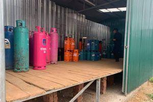 Thêm một cơ sở sang chiết gas lậu ở Hưng Yên bị phát hiện