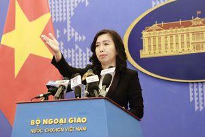 Bộ Ngoại giao yêu cầu Trung Quốc xử lý nghiêm vụ tàu hải cảnh đâm chìm tàu cá Việt Nam