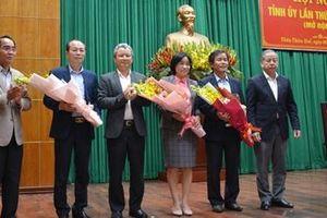 Thừa Thiên Huế: Điều động công tác nhiều cán bộ thuộc Ban Thường vụ Tỉnh ủy quản lý