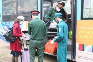 Điểm cách ly tập trung tại trường Cao đẳng nghề công nghệ cao Hà Nội: 274 người được đoàn tụ gia đình